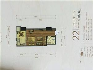 河西三大桥头新景家园1室1厅1卫50平米