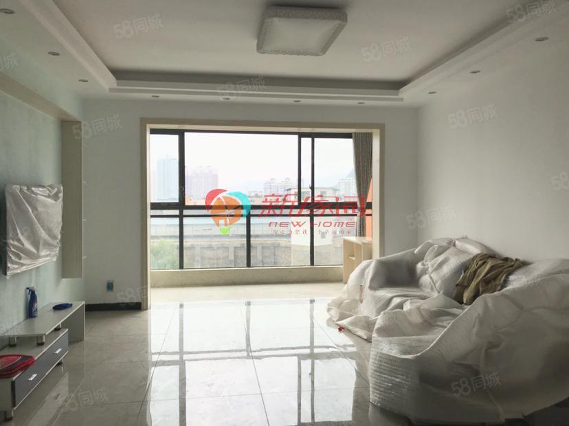 丽锦名苑旁边电梯房全新装修带阳台4室2厅可商住两用
