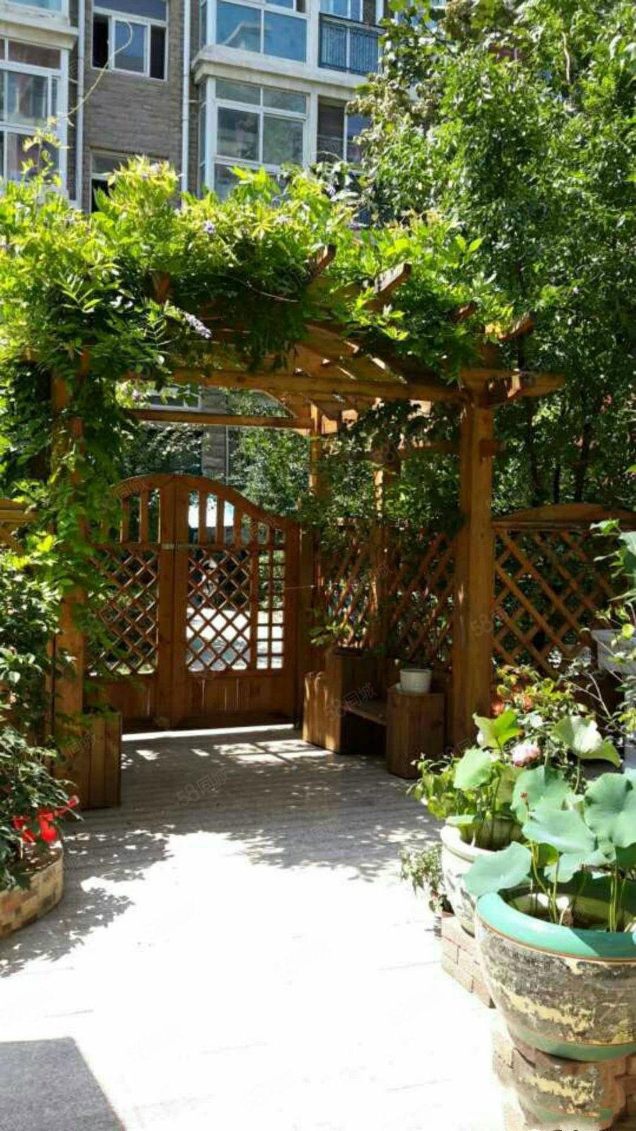 兰亭山水叠加复式带花园家具家电齐全办公居住均可图片