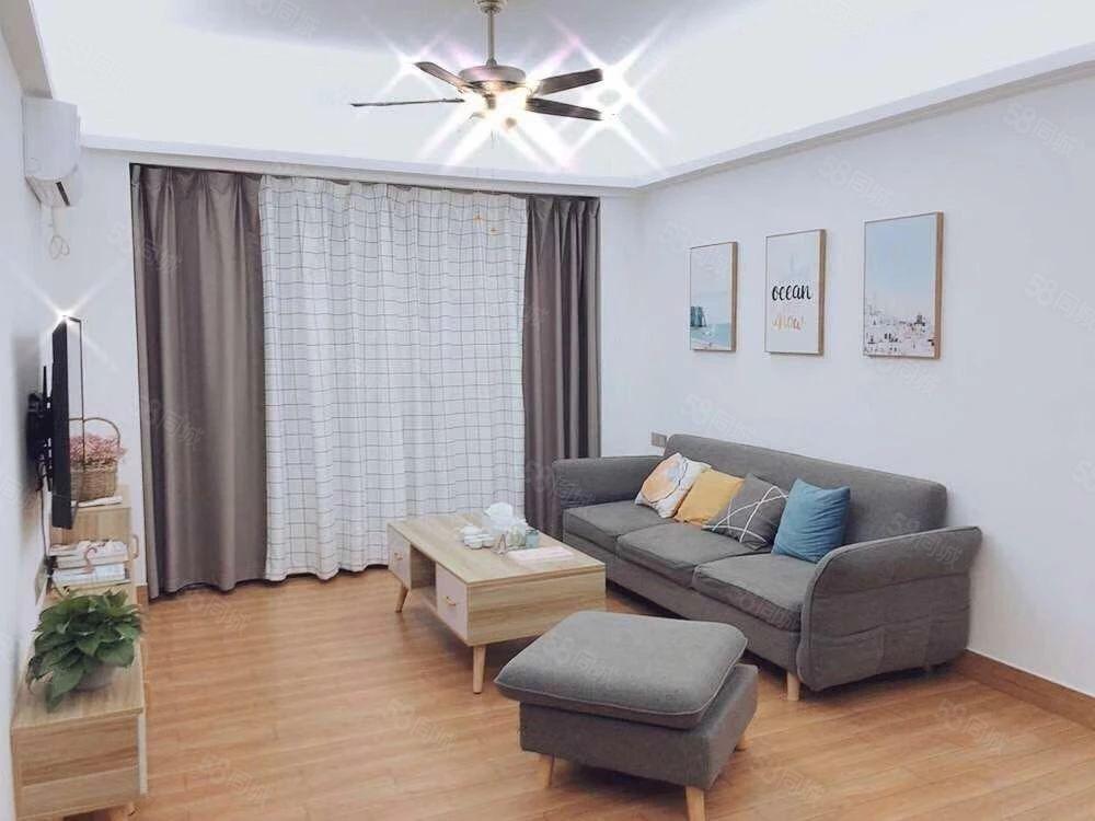创鸿国际全新现代精装二房采光视野宽阔家私家电配套齐全
