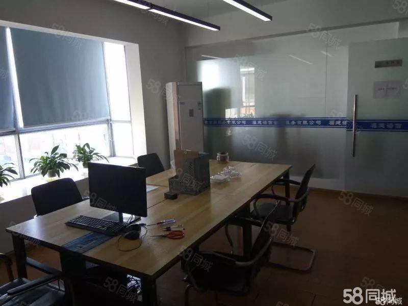 万达沃尔玛附近日月星城165平方米沿街办公室拎包办公