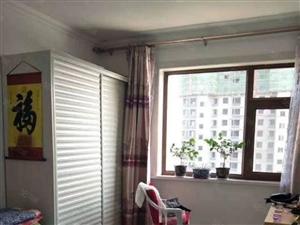 紫金湾多层5楼91平精装修标准格局南北通透落地窗地热全新装修