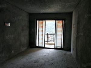 稀缺,正南向江景,电梯12楼,2房80平毛坯,品质花园小区
