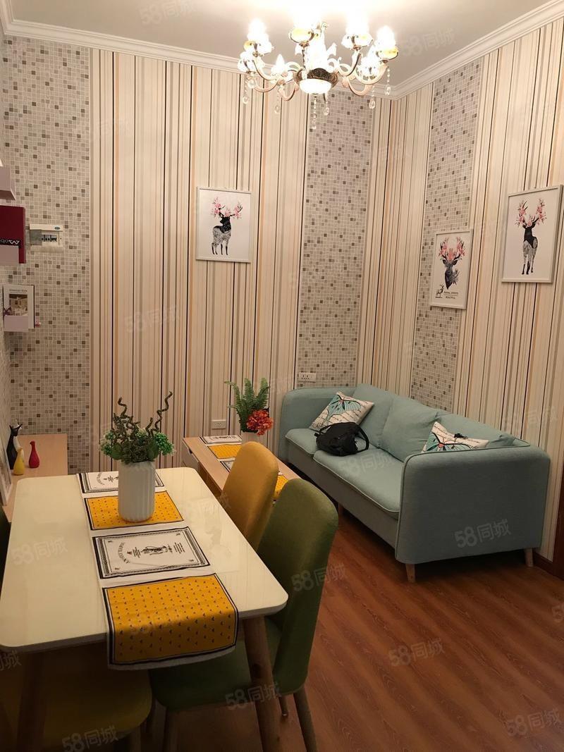 西�T紫金公寓3室1�d1�l拎包入住