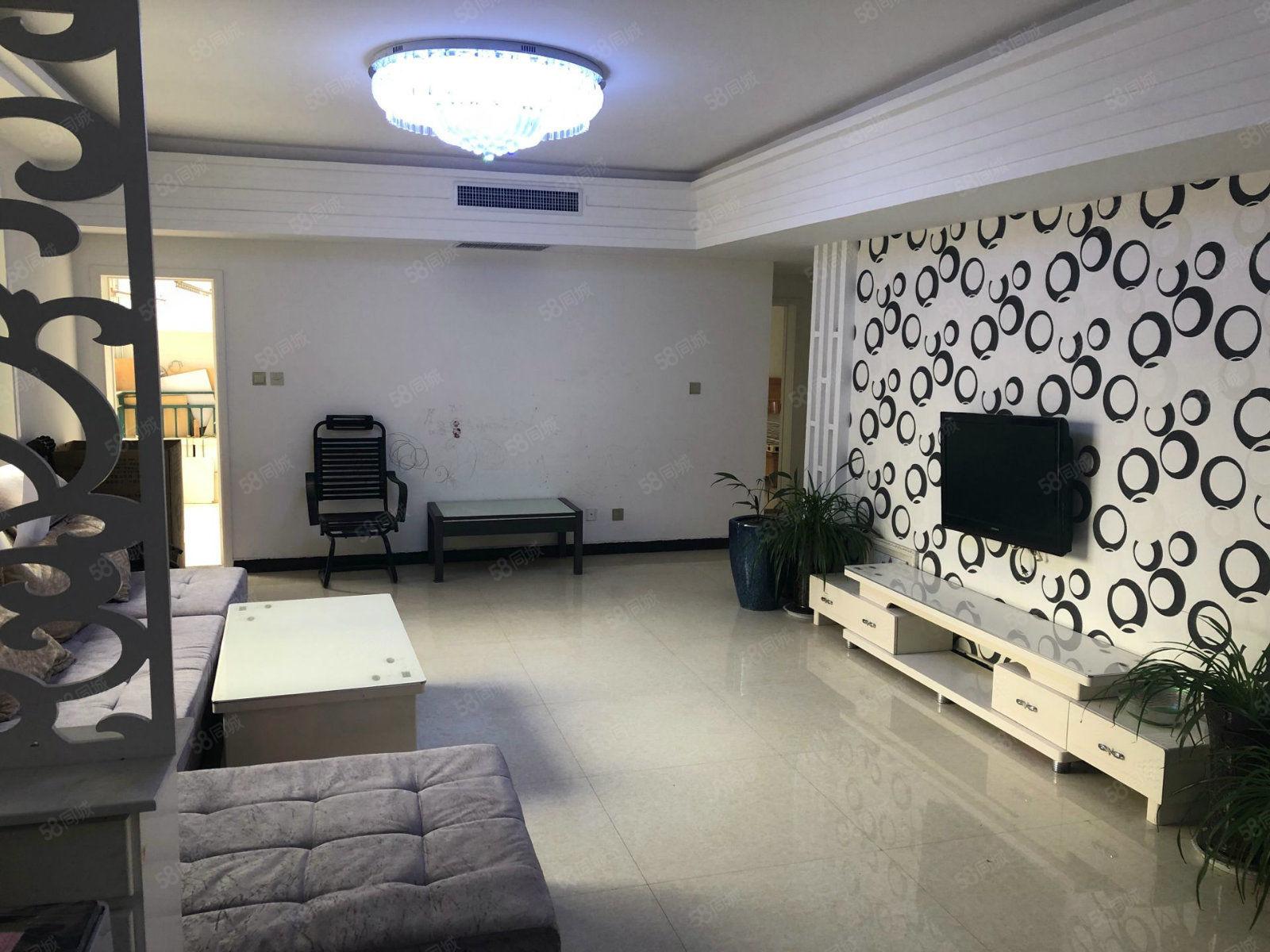 淞江芳园南区136平3方两厅中央空调拎包入住押一付三