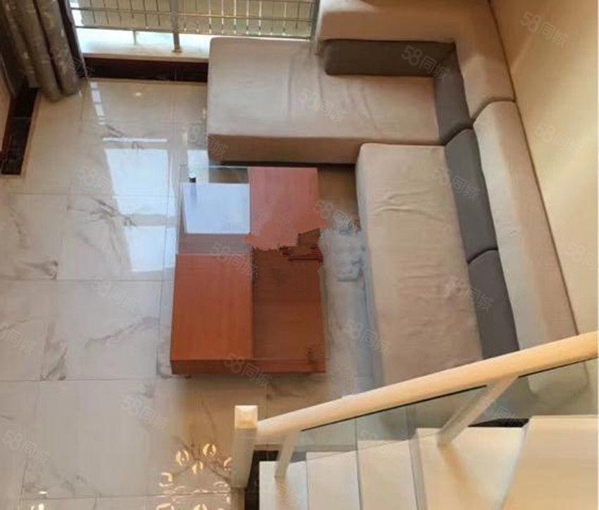 亿隆国际统一装修复式公寓包取暖物业电梯