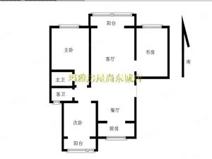 黄金水岸陶然亭,双阳台繁华地段,交通便利,南北大通透,急售