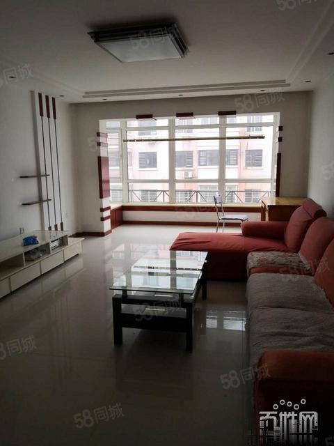 书香家园A区130平精装2室拎包入住