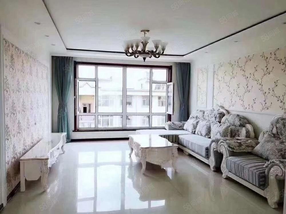 紫金花园电梯7楼三室婚房欧式豪装85万可分期高档小区