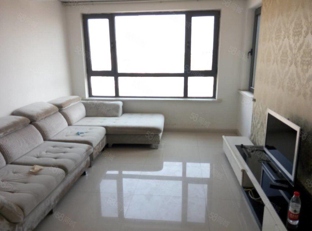 金域华城81平精装2室,带空调年租2万包取暖物业