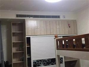 绿地国际城3室1厅2张床热水器小区绿化率高