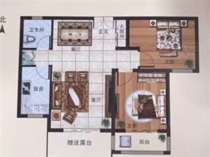 鹏洲丽城82两居首付16万超大露台包更名可贷款
