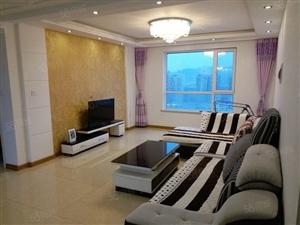 锦绣天第C区高层精装家电家具齐全17楼包取暖物业电梯