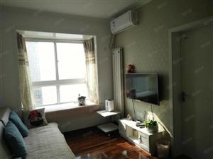 新市政府旁儒林商都精装1室1厅西南户通透采光包更名送家具家电