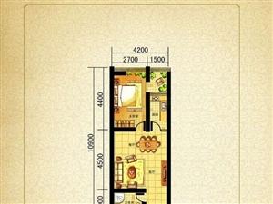 翰景名座,一室一厅酒店式公寓适合年轻人居住包更名