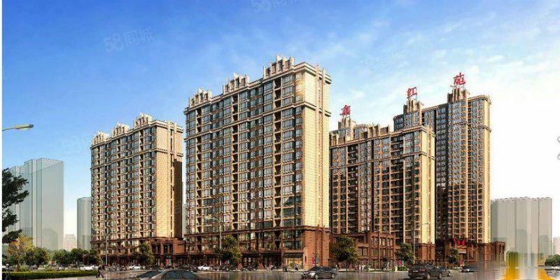 建龙鑫红苑,98.85平米,南北通透,超值户型