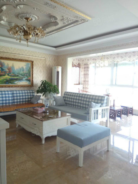 YS世纪大道怡水花园三室豪华装修,临湖面,可以直接住的房
