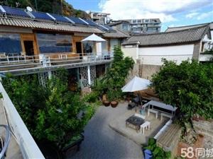 抚仙湖广龙小镇独栋客栈,920平米,可经营客栈,三层毛坯房