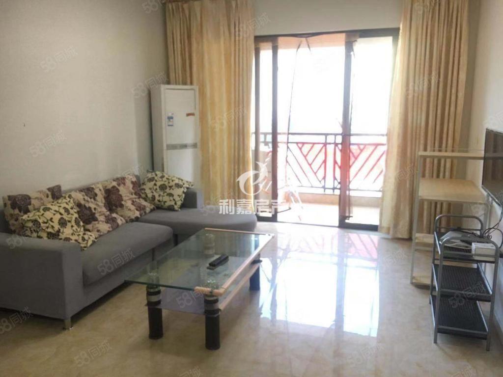 市中心万达华城居家装修两房出租临近沃尔玛设备齐全