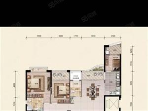 高端小区郦景阳光大户型206m,4.5房2厅3卫低首付