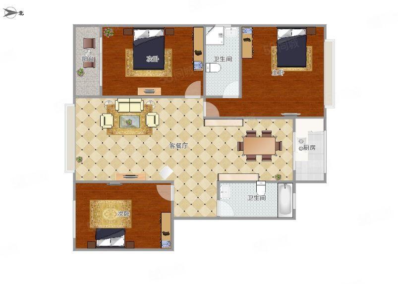 澳门拉斯维加斯平台县欣星小区1000元3室2厅2卫有钥匙,随时看房