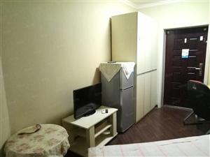 东风路文化路科技市场正弘数码公寓精装一室一厅带暖气