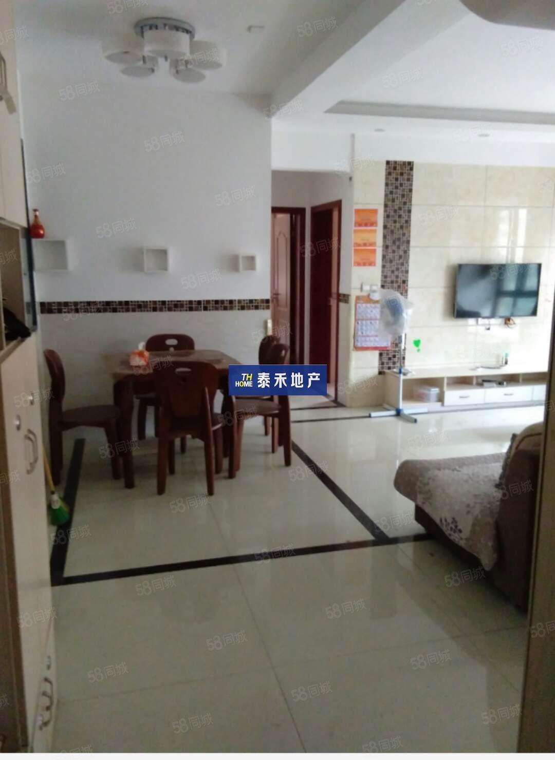 河东福熙美邸精装3房2厅2卫带家私家电拎包入住