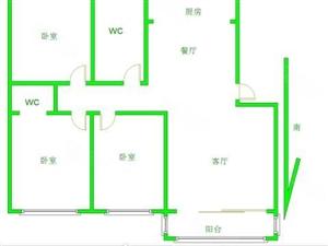 威尼斯人网址县京开道信用社家属院三室两厅两卫随时过户随时看房