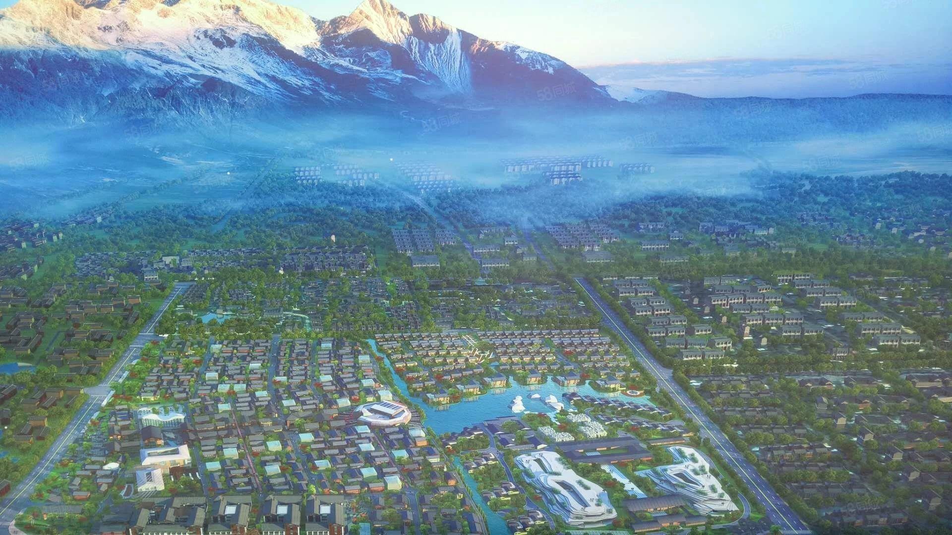 周末特价,雪山下的独栋别墅,在这土地需却的城市您还在犹豫?