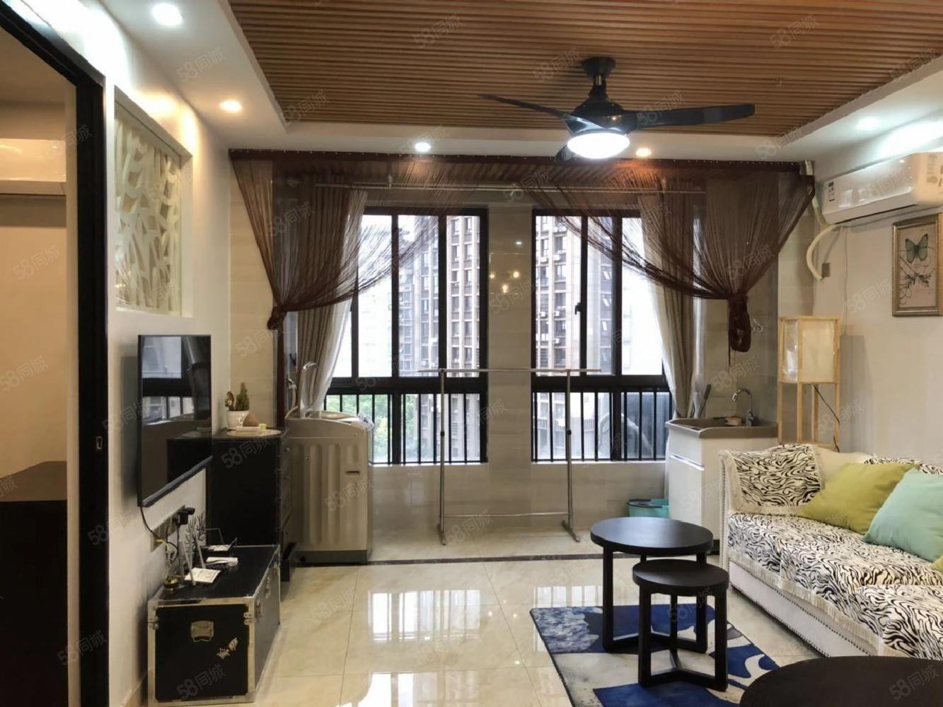 柴桑春天三区精装一房公寓房东自住装修看房方便