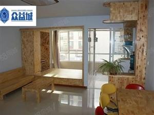 水岸帝景1350元1室1厅1卫精装修,超值,随时看房
