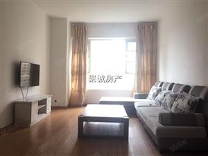 蓝光花满庭+套三精装修+带家具几点+低楼层+看房方便