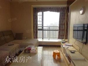 卧室带空调居家装修套二+小区环境优美+出行方便+随时看房