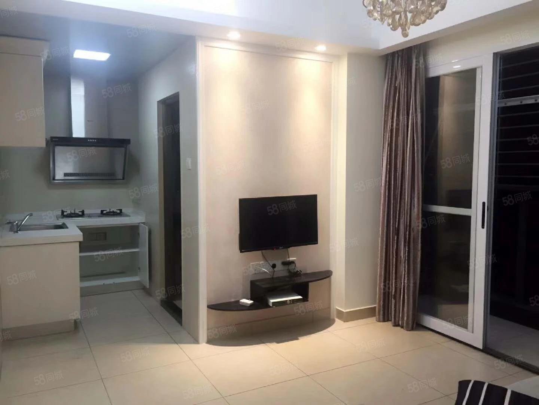 出租陈桥国际公寓4楼2房1,高档装修,家电齐全