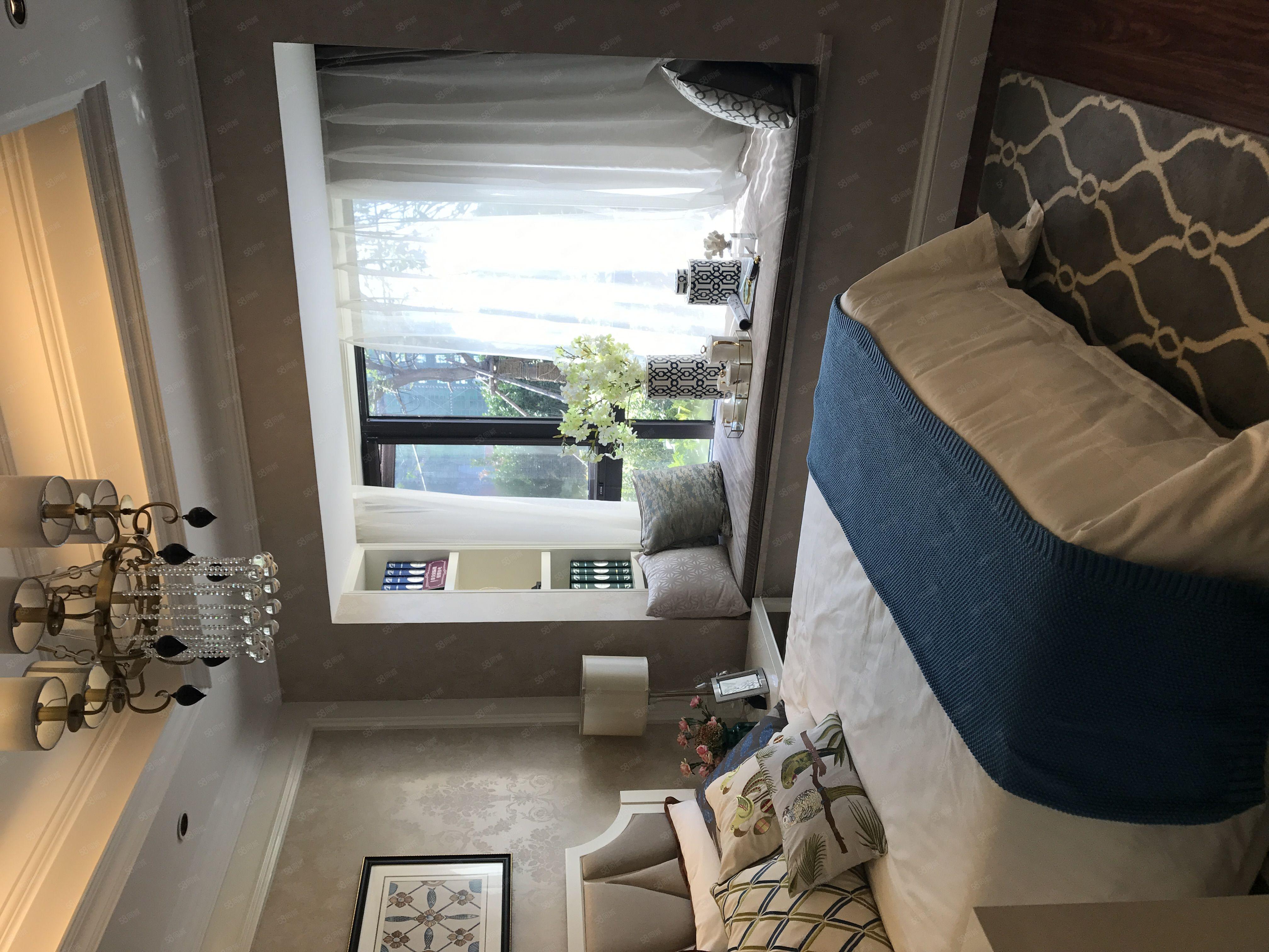 航空港区英迪学校旁地铁口5.09米复式公寓双气可当住宅