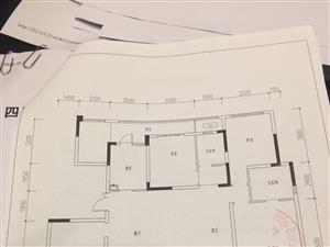 置行府花园洋房一梯两户黄金楼层9楼4室2厅2卫