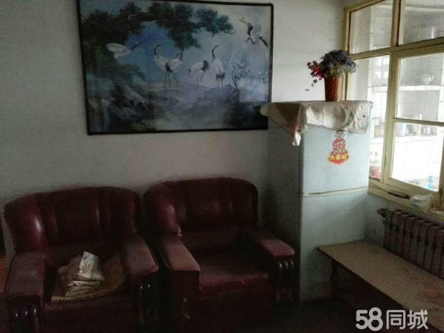 东风路三角线两室一厅带家具家电出租