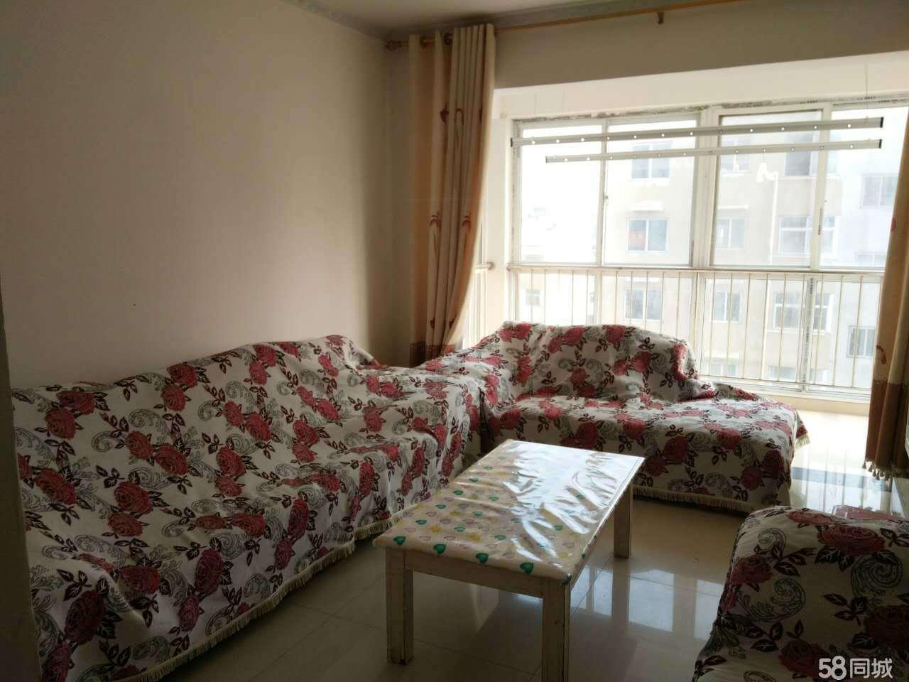 左岸国际2室2厅纯南户家电齐全拎包入住