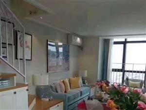 红树林爱特公馆30万起买一层送一层2室2厅2卫39㎡