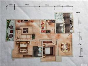 蒙自学海路天德中兴3室2厅2卫118平米12楼