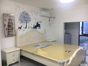 泰禾红郡艾特公寓精装设备齐全拎包入住专业设计美观大方1室1厅1卫