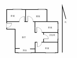 万科魅力之城3室1厅115平