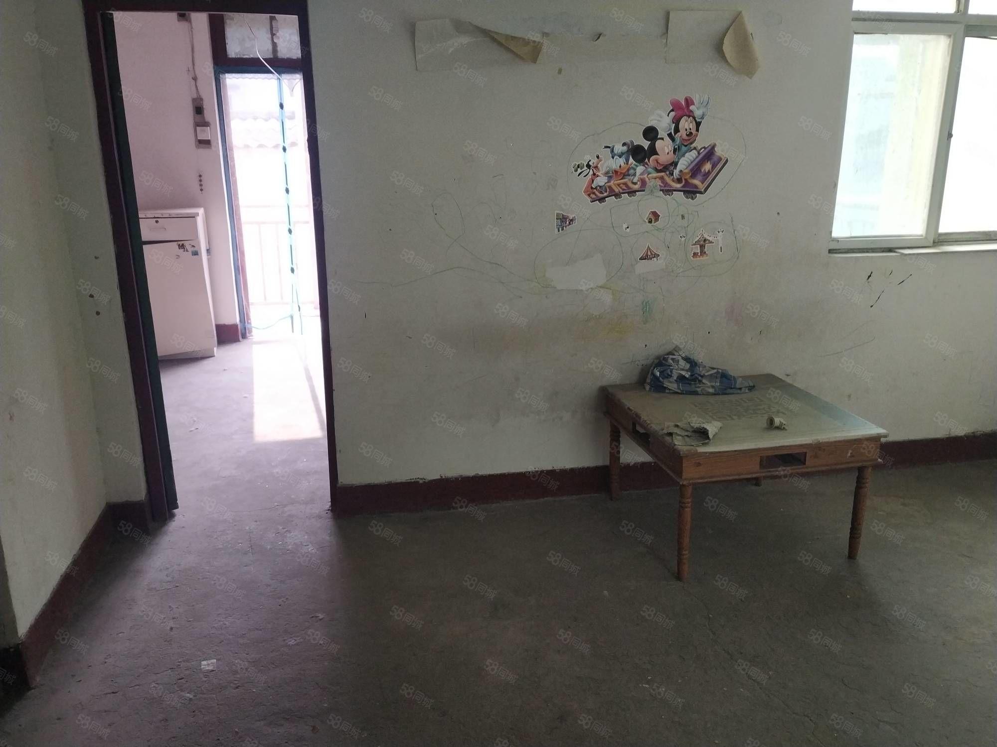 召陵区湘江路涵洞东水厂家属院3楼简装80平方2室400元