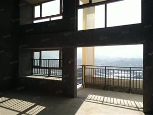泷澄水岸复试楼毛坯出售,156平送超大阳台间间采光