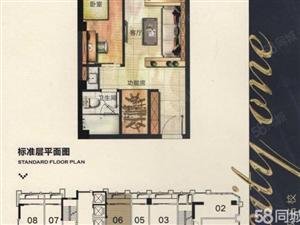 大润发公馆一手手续精装修单身公寓高低层都有双学.区房便利