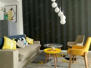 黄岛第三代商圈住宅式公寓,套二户型,毛坯可随心自住,总价便宜
