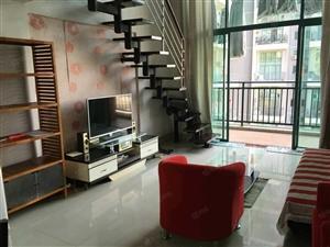 实拍中惠城非常漂亮的复式一房,家电全齐,价格美丽手慢无啊
