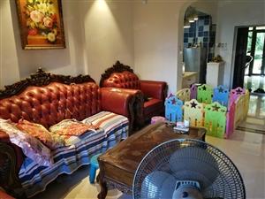 滨江路江畔人家高品质小区豪华装修两房两厅带30平花园