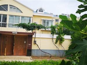 龙口海景别墅216平豪装带院子车库120万送红木家具
