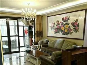 滨河国际电梯洋房豪华装修客厅通阳台三室带室内家电御珑湾